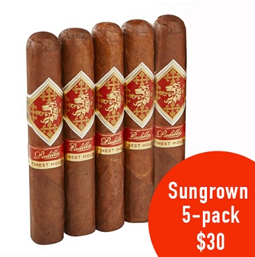 Padilla Cigars Finest Hour Sungrown Robusto 5-pack