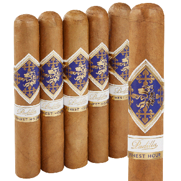 Padilla Cigars Finest Hour Connecticut Robusto 5-pack